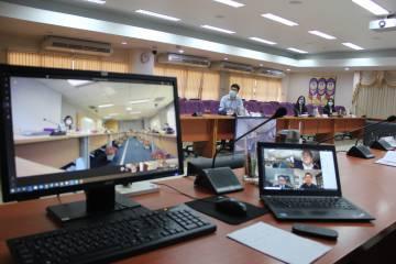 การประชุมสภามหาวิทยาลัยพะเยา ครั้งที่ 2/2563