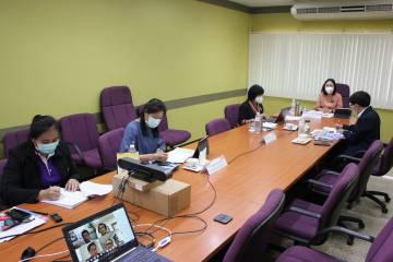 การประชุมคณะกรรมการส่งเสริมกิจการมหาวิทยาลัยพะเยา ครั้งที่ 1/2563