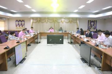 การประชุมคณะกรรมการส่งเสริมกิจการมหาวิทยาลัยพะเยา ครั้งที่ 3/2563