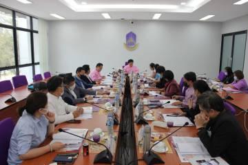 การประชุมคณะกรรมการส่งเสริมกิจการมหาวิทยาลัยพะเยา ครั้งที่ 1/2564